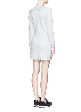 Back View - Click To Enlarge - NIKE - 'Tech Fleece Splatter' dress