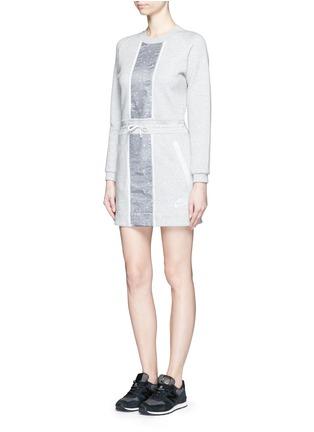 Front View - Click To Enlarge - Nike - 'Tech Fleece Splatter' dress