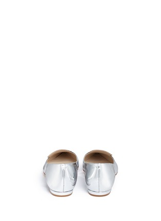 Back View - Click To Enlarge - Sophia Webster - Bibi Butterfly' wing appliqué mirror leather flats