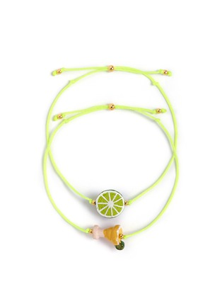 Main View - Click To Enlarge - Venessa Arizaga - 'Margarita Lime' bracelet set