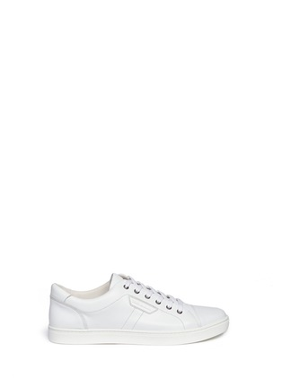 Main View - Click To Enlarge - Dolce & Gabbana - Leather sneakers