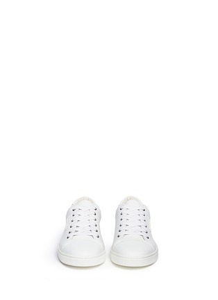 Figure View - Click To Enlarge - Dolce & Gabbana - Leather sneakers