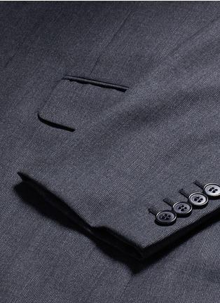 - SAINT LAURENT - Notch lapel textured wool suit