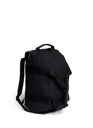 Figure View - Click To Enlarge - NANAMICA - Canvas duffle backpack