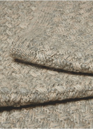 Detail View - Click To Enlarge - OYUNA - Safira cashmere throw