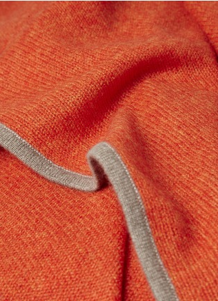 Detail View - Click To Enlarge - OYUNA - Daya cashmere travel throw
