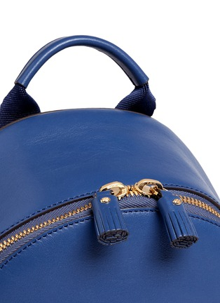 Detail View - Click To Enlarge - Anya Hindmarch - 'Eyes Mini' embossed leather backpack