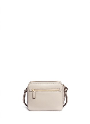 Back View - Click To Enlarge - Anya Hindmarch - 'Space Invaders' embossed leather crossbody bag