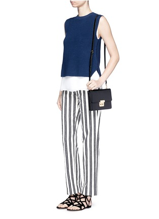 Figure View - Click To Enlarge - Michael Kors - 'Sloan' large leather crossbody bag