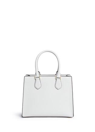 Back View - Click To Enlarge - Michael Kors - 'Bridgette' medium saffiano leather boxy tote