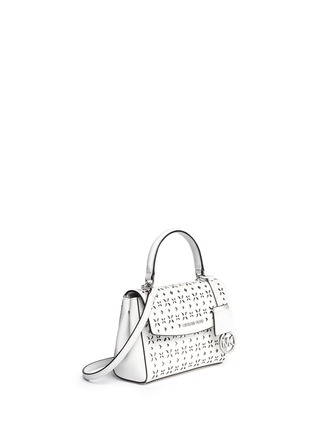 Front View - Click To Enlarge - Michael Kors - 'Ava' extra small perforated leather crossbody bag