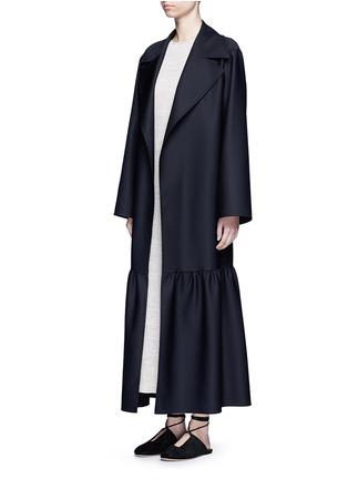 Figure View - Click To Enlarge - The Row - 'Alexander' peplum hem belted coat