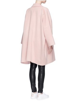 Back View - Click To Enlarge - Helmut Lang - 'Cape' oversize double face wool-cashmere coat