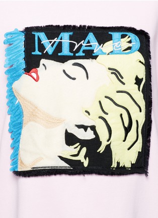 Detail View - Click To Enlarge - GROUND ZERO - Madonna CD cover embroidery sweatshirt
