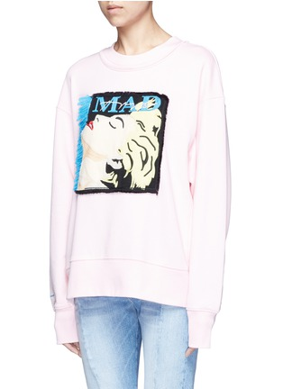 Front View - Click To Enlarge - GROUND ZERO - Madonna CD cover embroidery sweatshirt