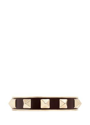 Main View - Click To Enlarge - Valentino - 'Rockstud' enamel cuff