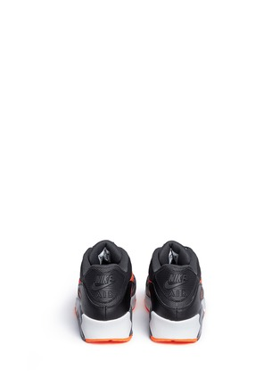 Back View - Click To Enlarge - Nike - 'Air Max 90 Essential' mesh leather sneakers