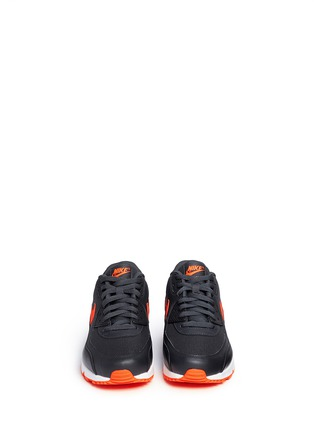 Front View - Click To Enlarge - Nike - 'Air Max 90 Essential' mesh leather sneakers