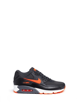 Main View - Click To Enlarge - Nike - 'Air Max 90 Essential' mesh leather sneakers