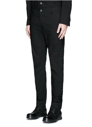 Front View - Click To Enlarge - UMA WANG  - 'Felix' slim fit stretch linen pants