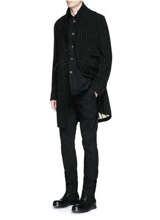 Figure View - Click To Enlarge - Uma Wang  - 'Franco' stretch linen jacket