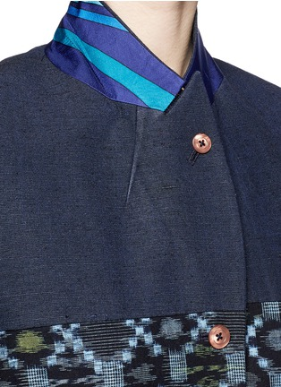 Detail View - Click To Enlarge - IBRIGU - One of a kind kimono tailored jacket