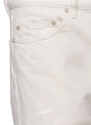 - COVERT - Distressed straight leg jeans