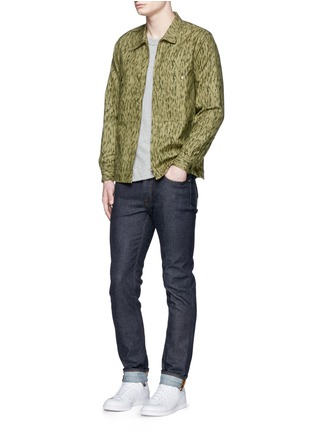 Figure View - Click To Enlarge - COVERT - Camouflage cotton coach jacket