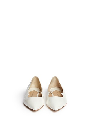 Figure View - Click To Enlarge - PAUL ANDREW - 'Zoya' wavy leather flats