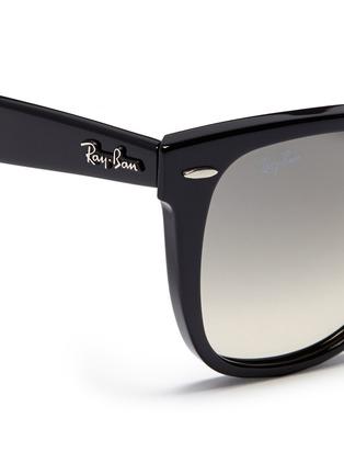 Detail View - Click To Enlarge - RAY-BAN - 'Original Wayfarer' acetate sunglasses