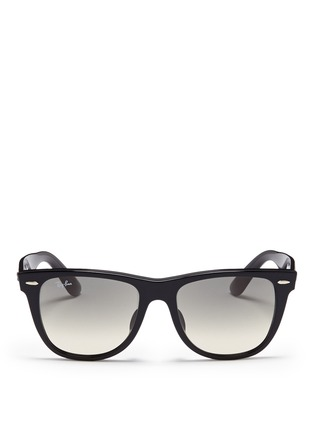 Main View - Click To Enlarge - Ray-Ban - 'Original Wayfarer' acetate sunglasses