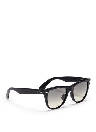 Figure View - Click To Enlarge - RAY-BAN - 'Original Wayfarer' acetate sunglasses