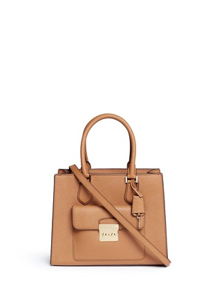 Main View - Click To Enlarge - Michael Kors - 'Bridgette' medium saffiano leather tote