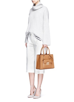 Figure View - Click To Enlarge - Michael Kors - 'Bridgette' medium saffiano leather tote