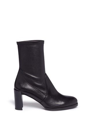 Main View - Click To Enlarge - STUART WEITZMAN - 'Calare' stretch leather boots