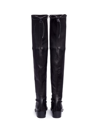 Back View - Click To Enlarge - Stuart Weitzman - 'Midland' stretch leather thigh high boots