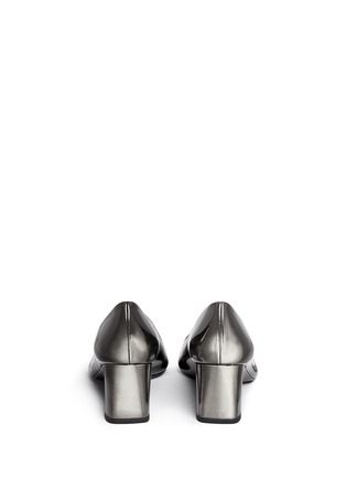 Back View - Click To Enlarge - Stuart Weitzman - 'First Class' patent leather pumps