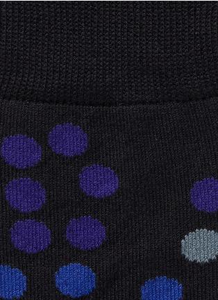 Detail View - Click To Enlarge - Paul Smith - Falling polka dot socks