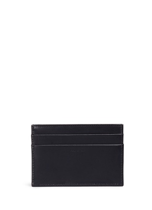 Figure View - Click To Enlarge - Paul Smith - Stripe print leather cardholder