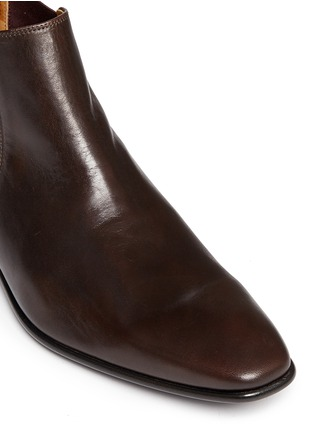 Detail View - Click To Enlarge - Paul Smith - 'Falconer' leather Chelsea boots