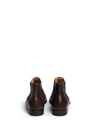 Back View - Click To Enlarge - Paul Smith - 'Falconer' leather Chelsea boots
