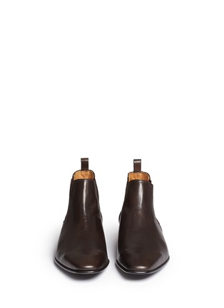 Front View - Click To Enlarge - Paul Smith - 'Falconer' leather Chelsea boots