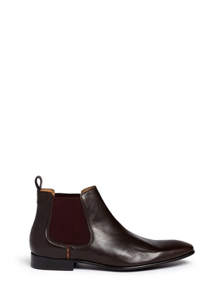 Main View - Click To Enlarge - Paul Smith - 'Falconer' leather Chelsea boots