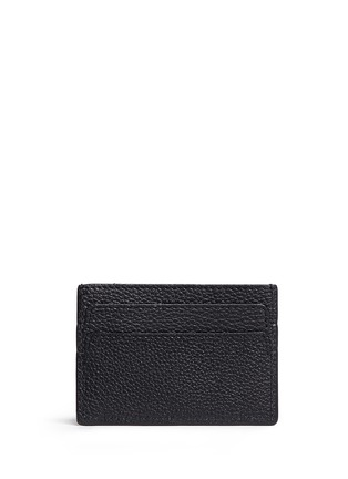 Figure View - Click To Enlarge - Alexander McQueen - Skull leather card holder