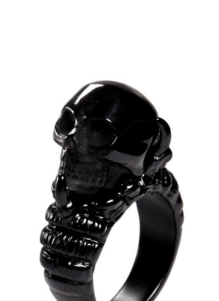 Detail View - Click To Enlarge - Alexander McQueen - Claw and skull ring