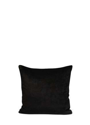 Figure View - Click To Enlarge - Silken Favours - 'Midnight Butterflies' silk cushion