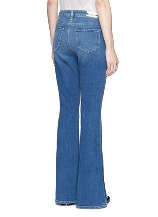 Back View - Click To Enlarge - L'Agence - 'Sophie' denim flared jeans