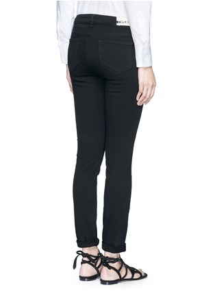 Back View - Click To Enlarge - L'Agence - 'The Bridgette' skinny pants