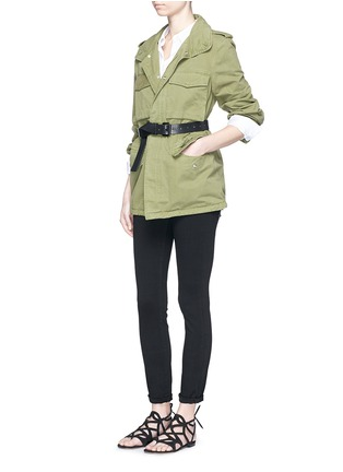 Figure View - Click To Enlarge - L'Agence - 'The Bridgette' skinny pants