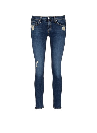 Main View - Click To Enlarge - rag & bone/JEAN - 'Skinny' distressed jeans